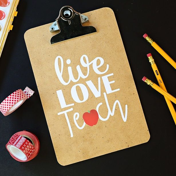 Easy Crafts For Teachers Gifts