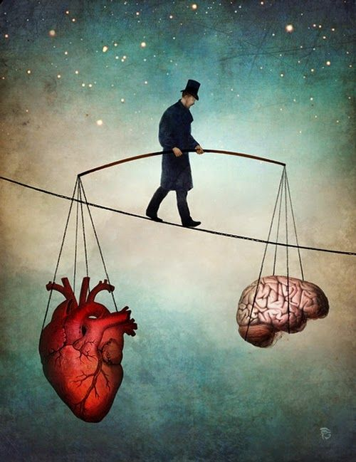 Surreal Paintings - Balance of Mind and Heart | Balance art, Surreal art,  Art