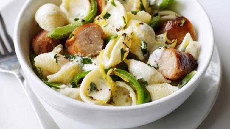 Creamy sausage and lemon pasta recipe lemon pasta