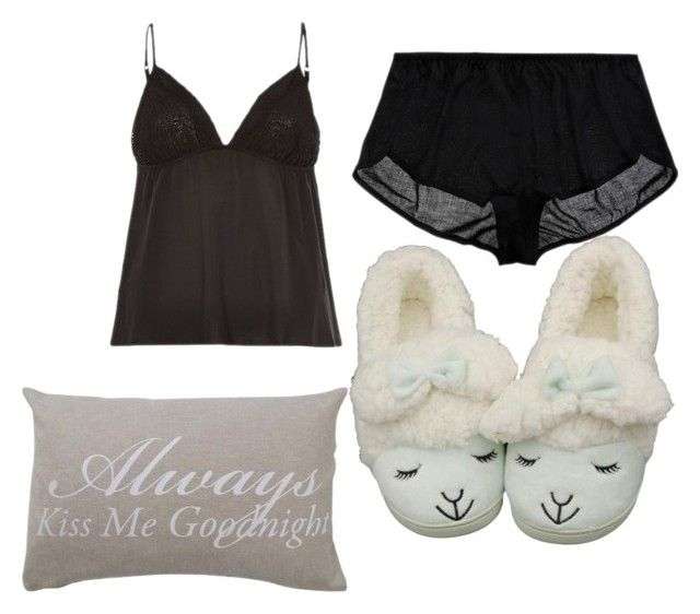 Goodnight by mrsagati on Polyvore featuring polyvore, fashion, style, Only Hearts, River Island and Park B. Smith