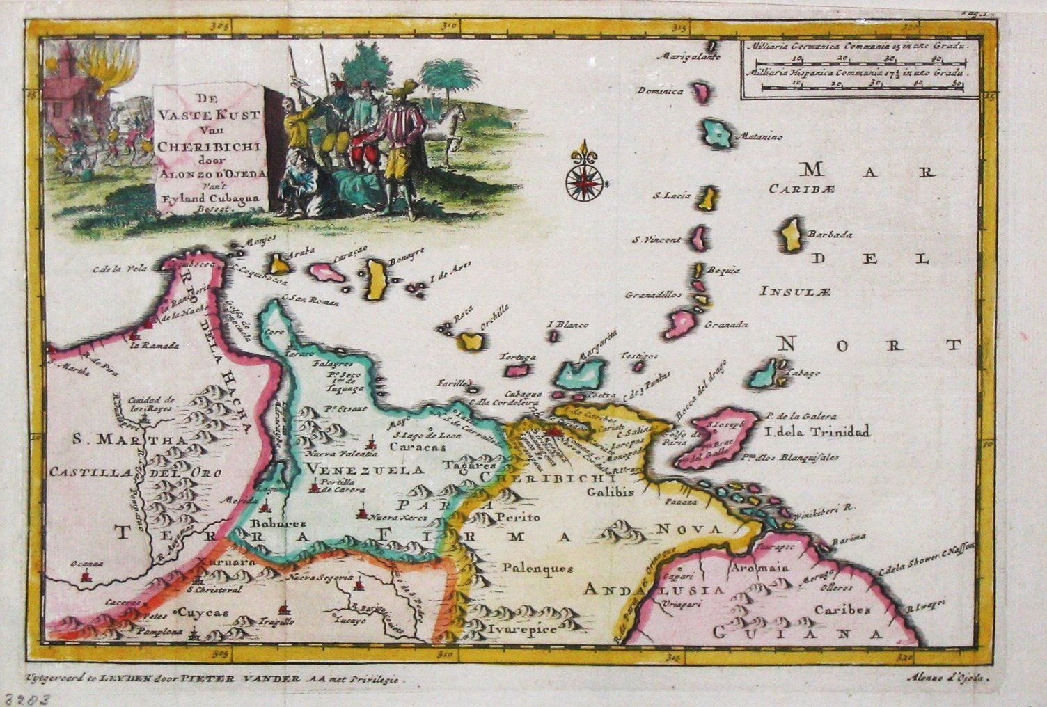 when we were apart of the Spanish Empire   Old Maps of ... Map Of Trinidad In Spanish on map of spanish caribbean, map of sir francis drake, map of spanish conquest, map of spanish mexico,