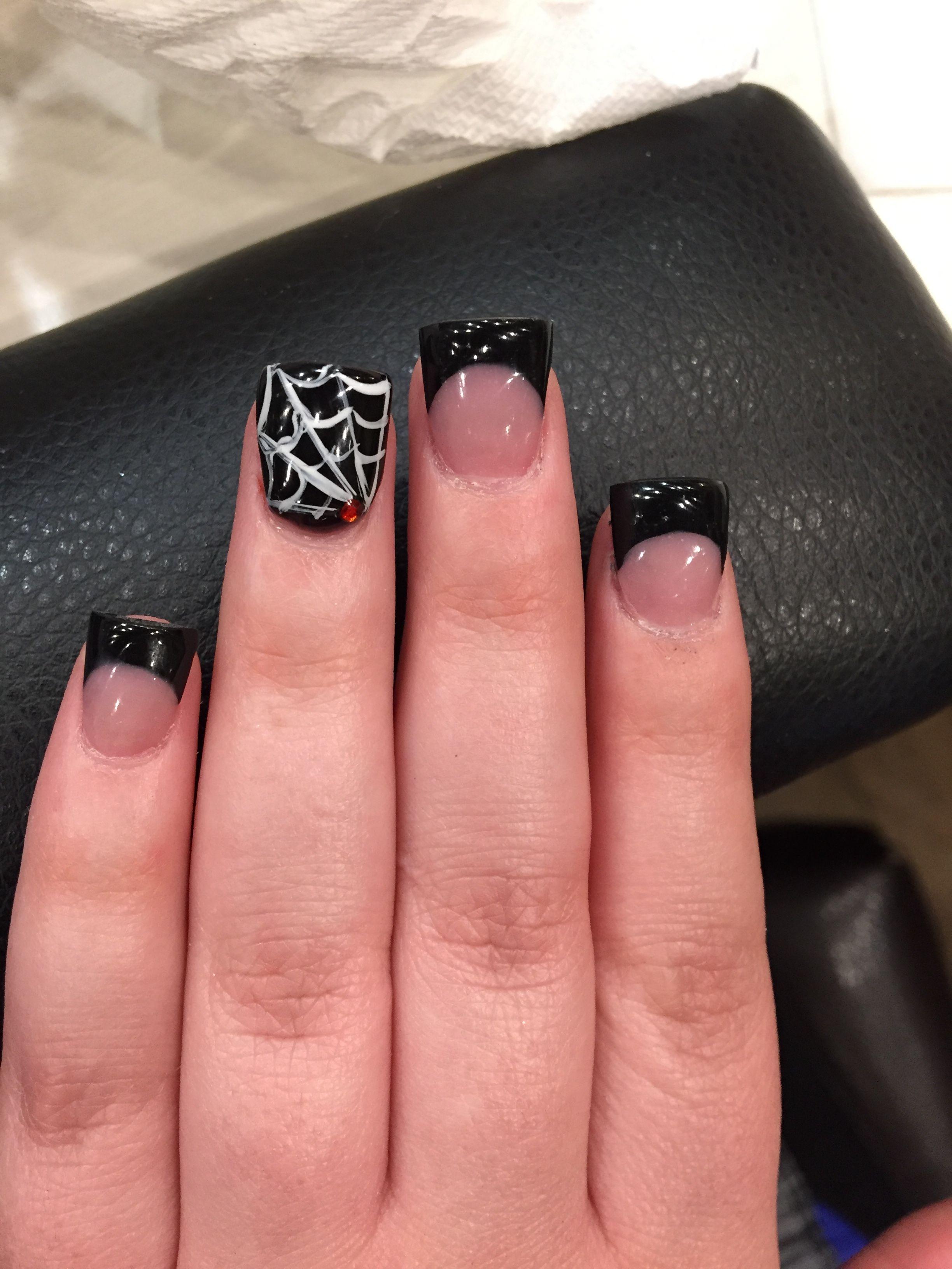 Halloween nails by Britney at Nail forum Valencia California   Nails ...