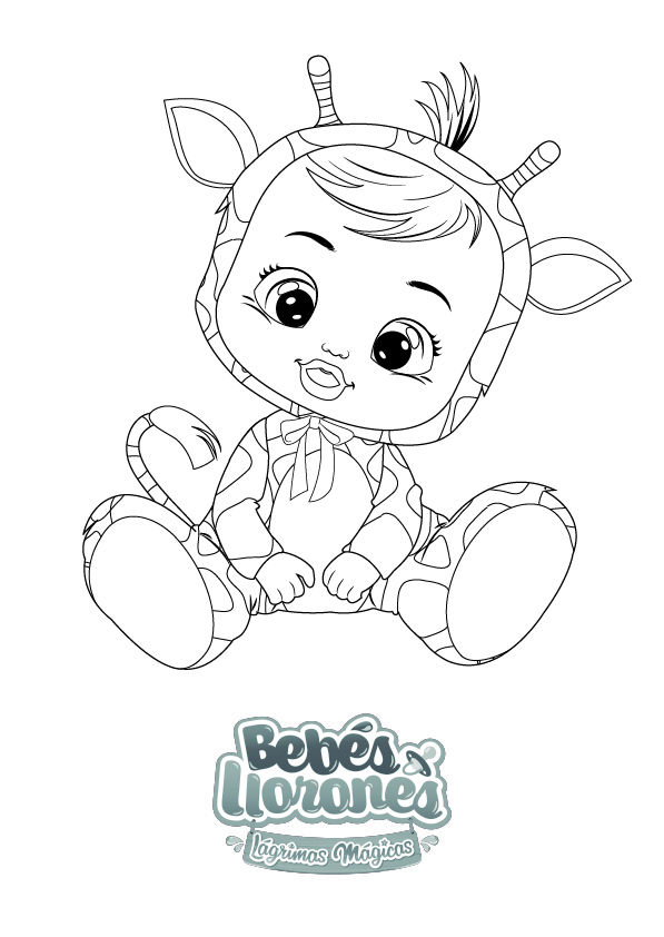 A Pintar Bebés Llorones Lágrimas Mágicas Bebes Para Dibujar La Llorona Caricatura De Bebé