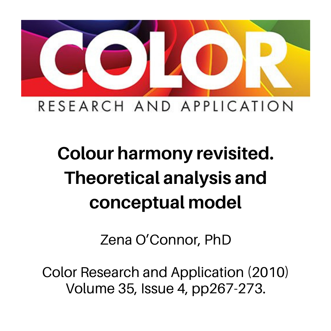 This 2010 Peer Reviewed Paper Examines The Literature On Colour