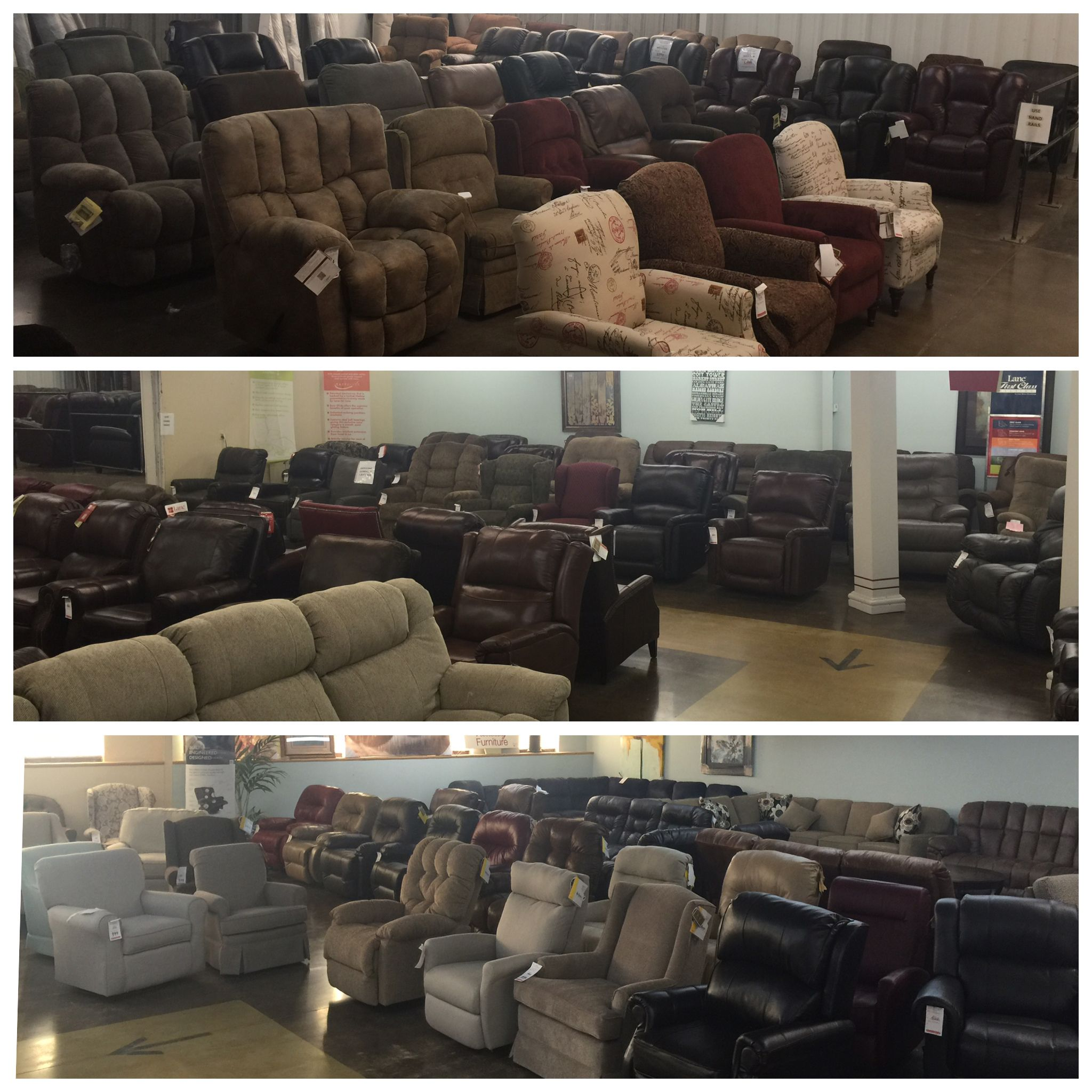 Genial Akins Furniture Has 3 Rooms Of Recliners Of Every Size, Shape And Color