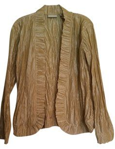 Chico's Light Gold Jacket