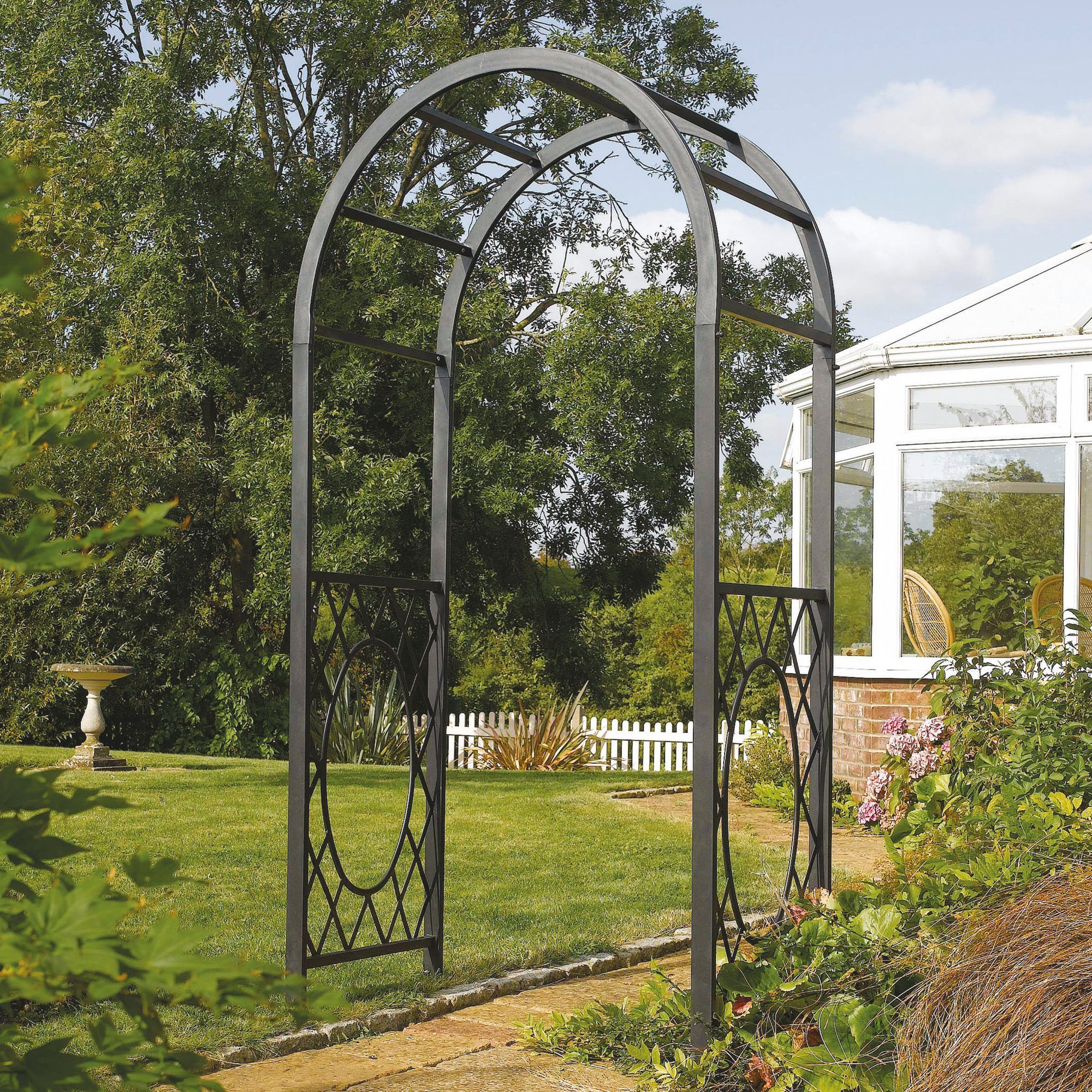 Wrenbury Metal Arch Assembly Required Departments Diy At B