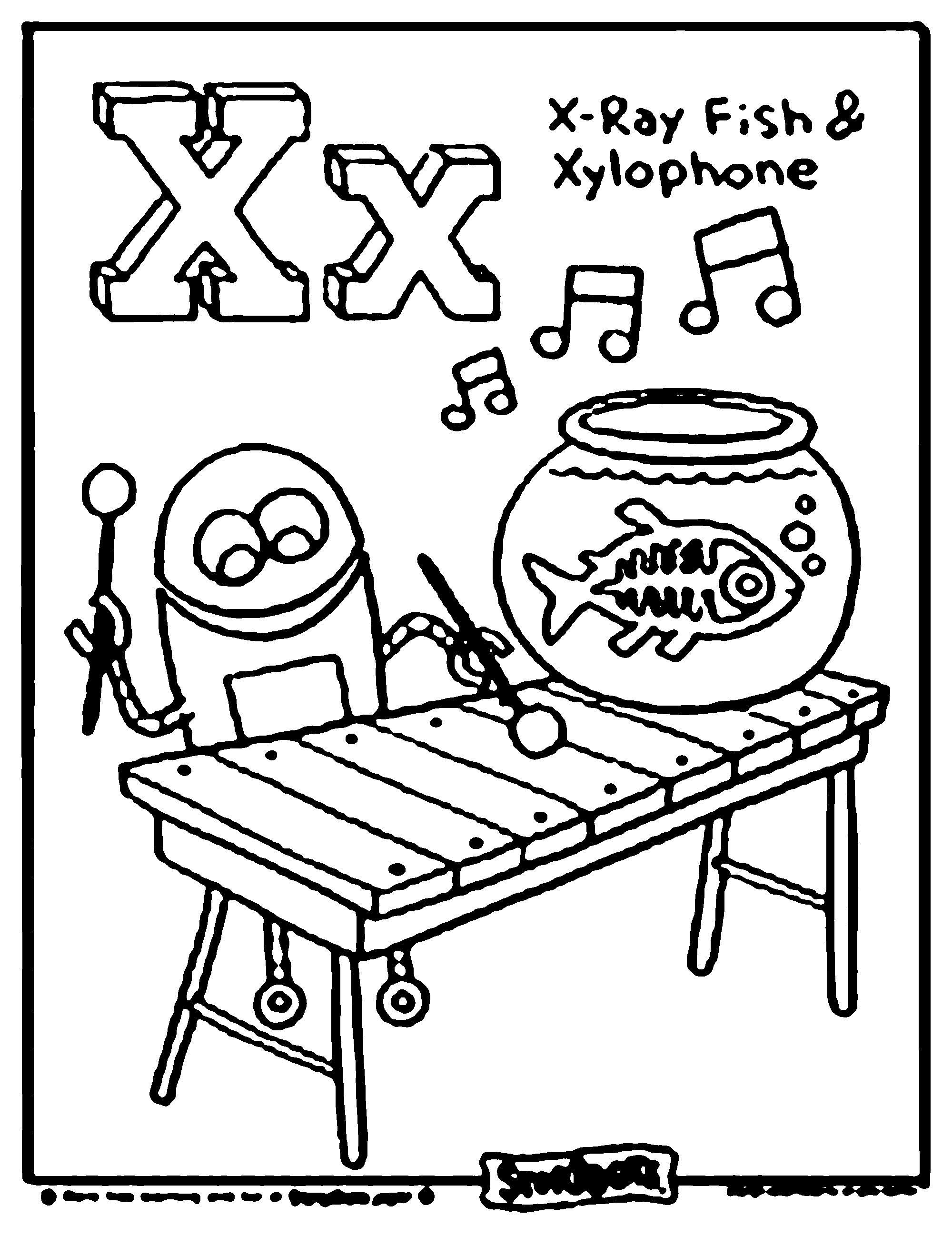 Letter X Alphabet Coloring Pages Alphabet Coloring Abc Coloring Pages