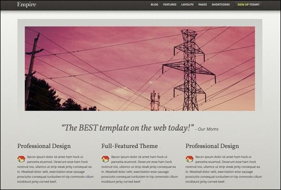 Empire WordPress Theme: Flexible and Sophisticated | eCommerce ...