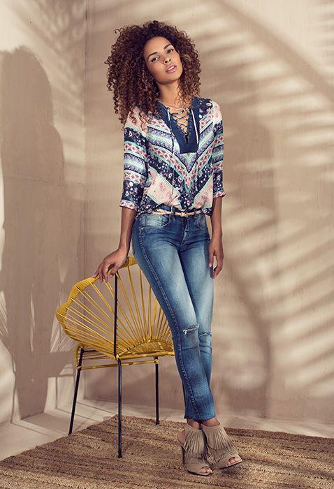 Ropa Jeans Y Accesorios De Moda Para Mujer Ela Ropa Moda Moda Para Mujer
