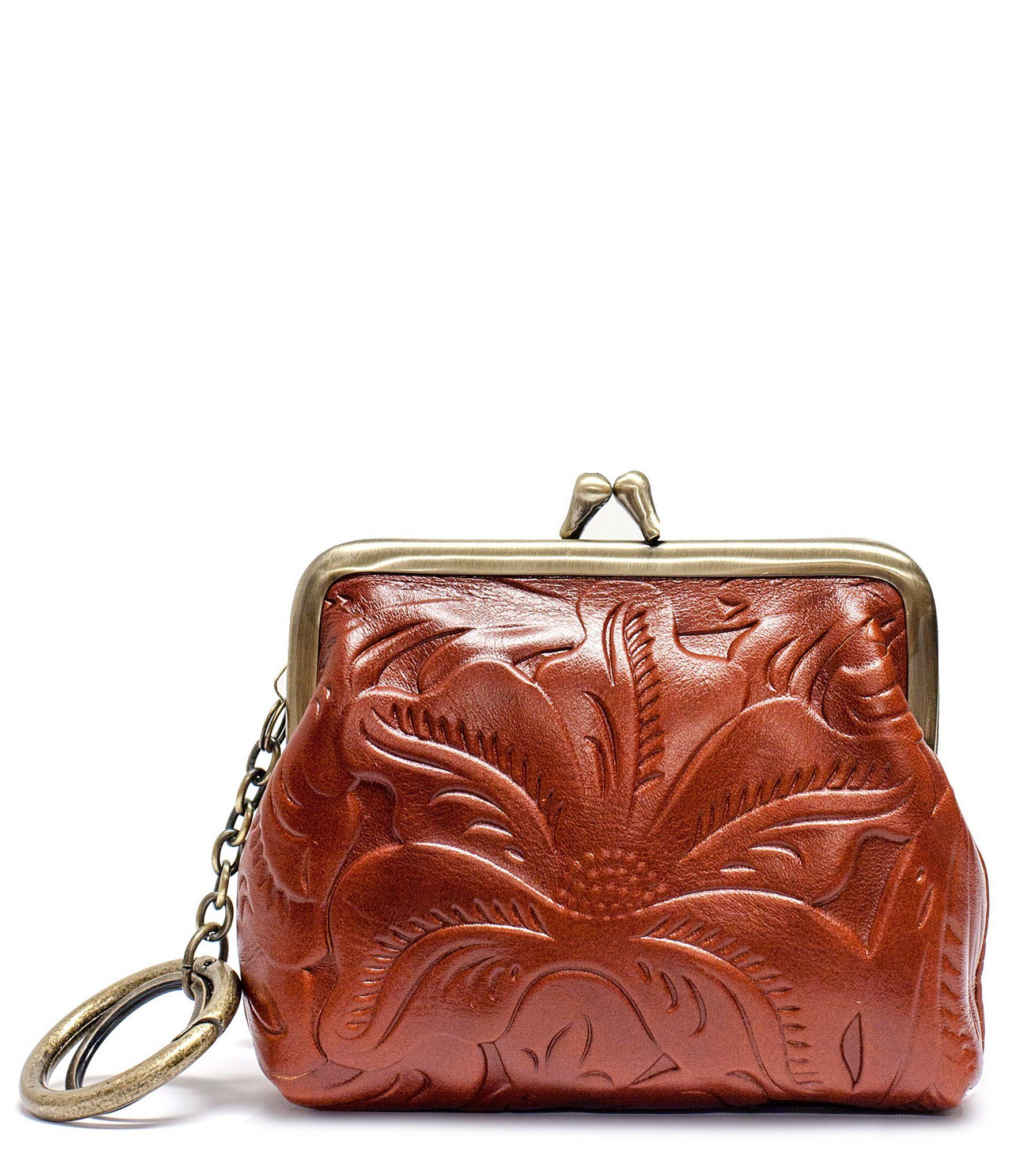 5c9c2567bdf5 Shop for Patricia Nash Borse Tooled Floral-Embossed Coin Purse at  Dillards.com. Visit Dillards.com to find clothing, accessories, shoes,  cosmetics & more.