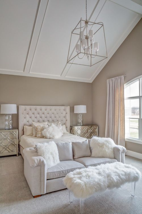 Image Result For Modern Glam Bedroom Bedroom With Sitting Area