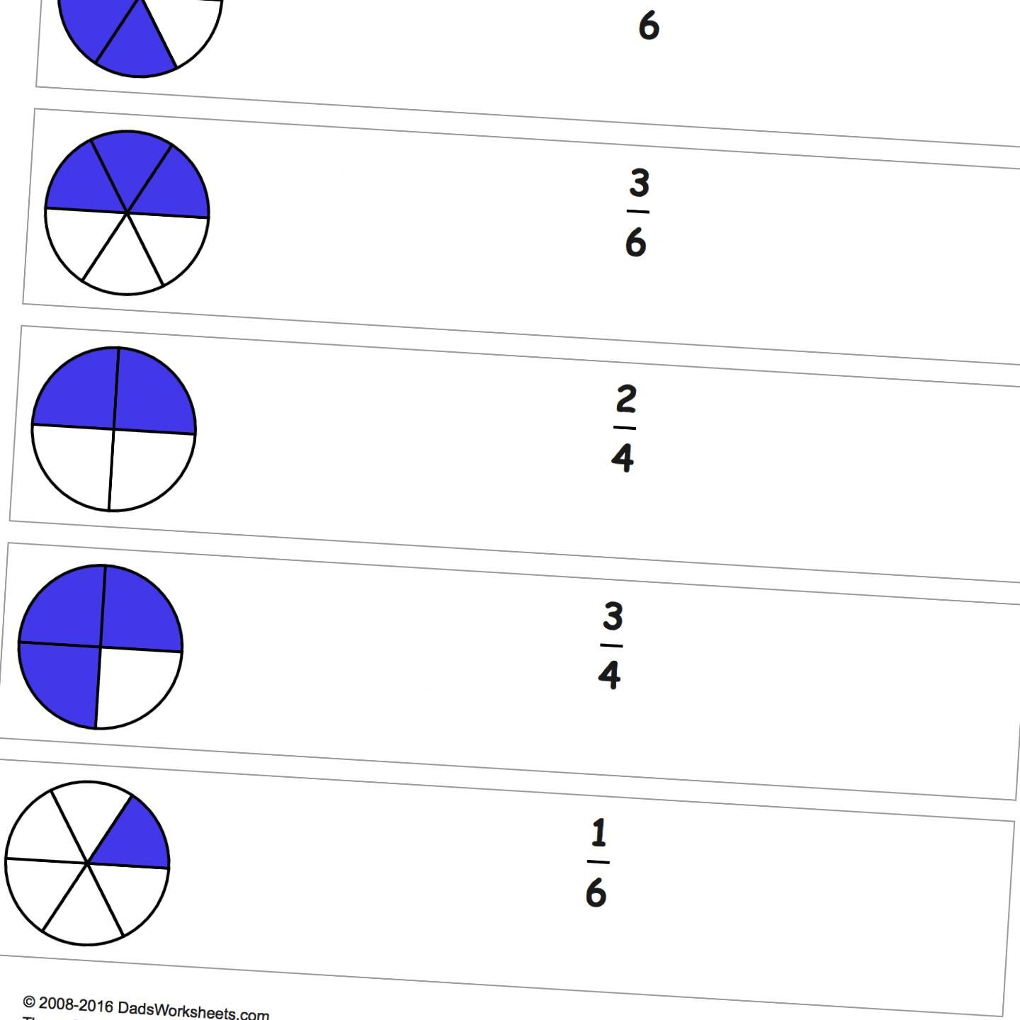 These exercises create familiarity with fraction concepts and ...