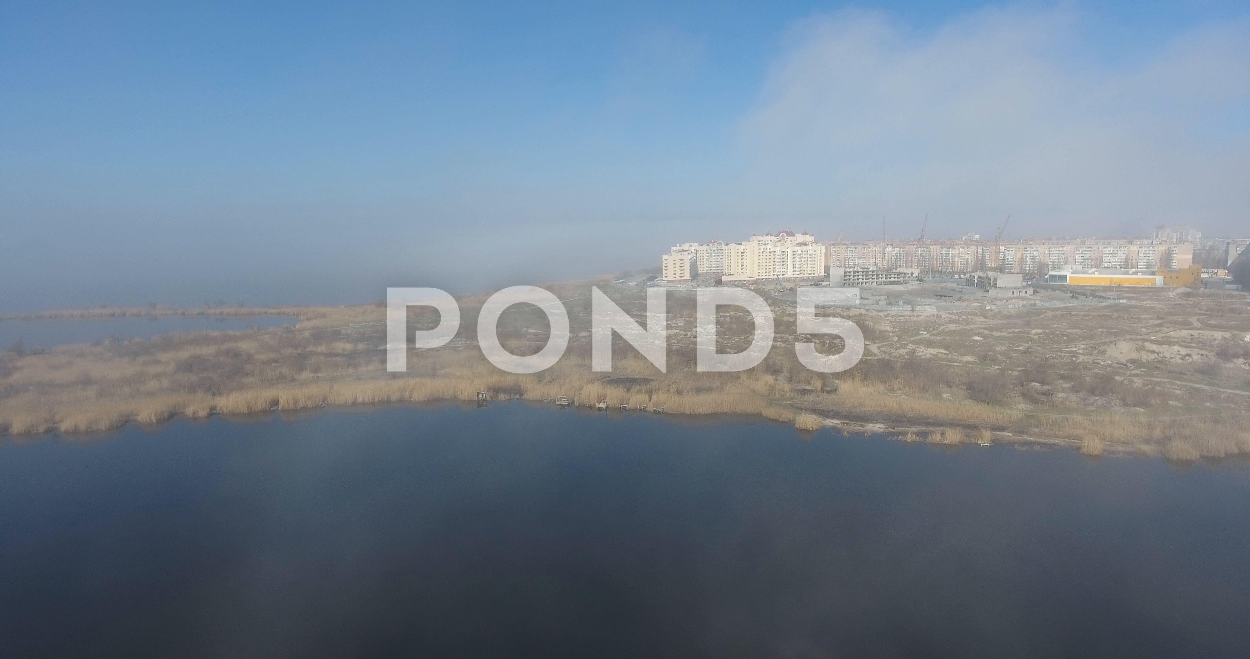 Fantastic city in the fog 46