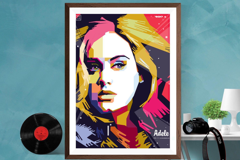 CANVAS Adele Art Print Poster