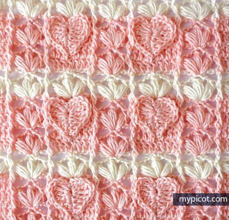 Mypicot Free Crochet Patterns Crochet Afghans In 2018