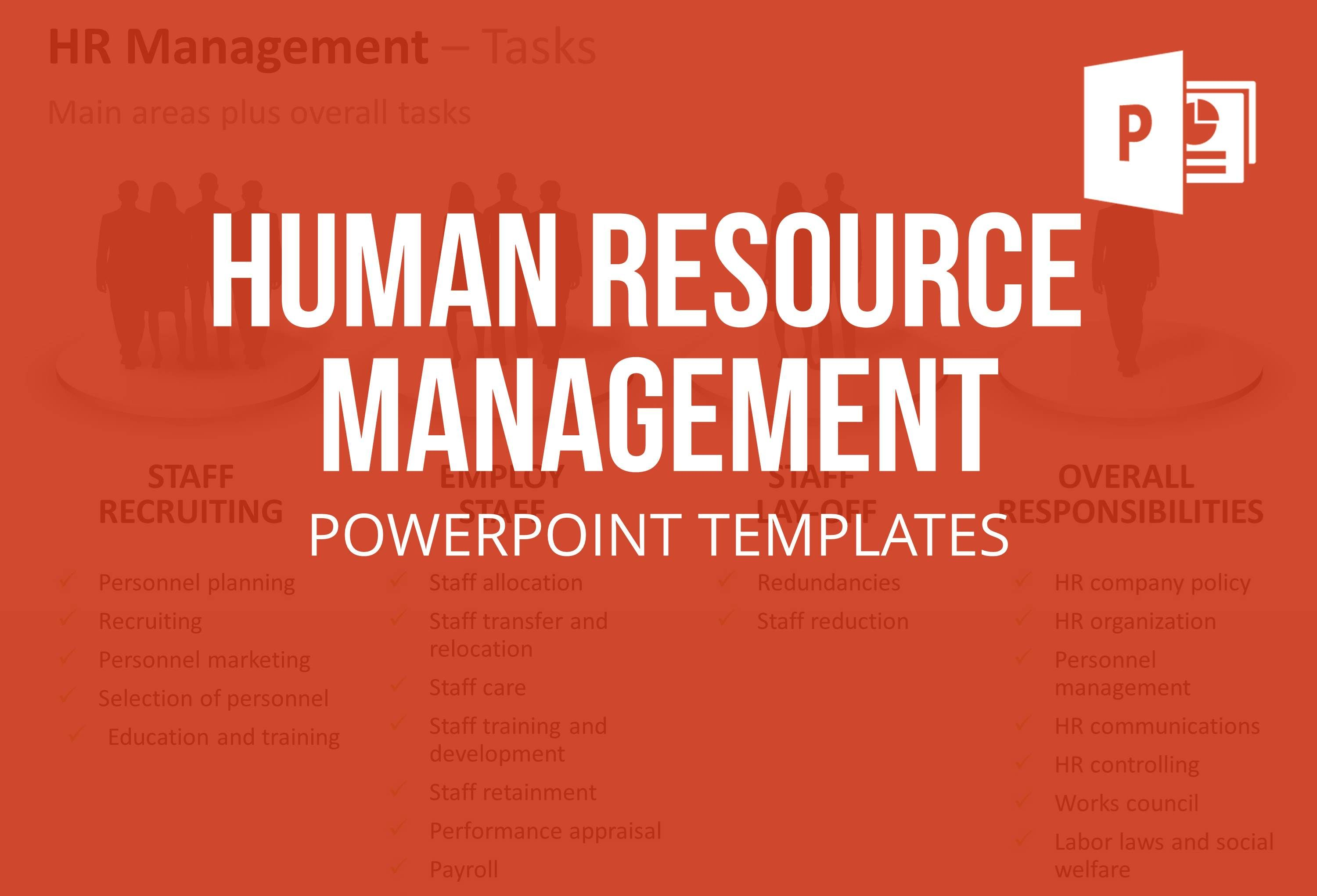 The Human Resource Management Powerpoint Template Set Includes A