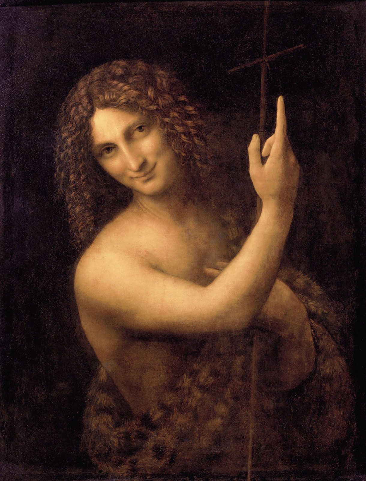 san giovanni battista quadro di leonardo da vinci cultura paintings
