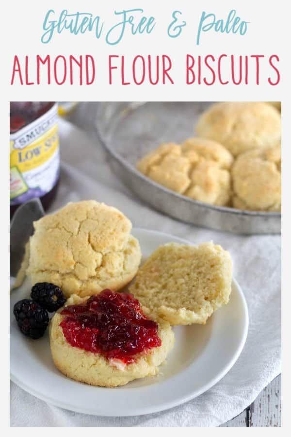 Paleo Almond Flour Biscuits {Gluten-Free}