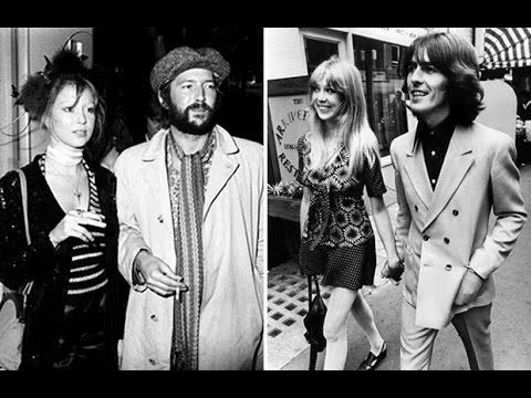 George Harrison - Pattie Boyd - Eric Clapton: a love triangle | Classic rock songs, Songs about girls, Eric clapton
