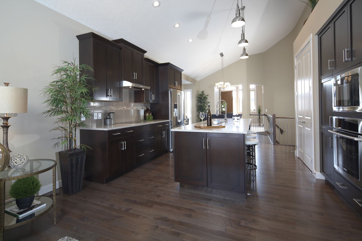Montreux villas kitchen trico homes check out the new for Ak kitchen cabinets calgary