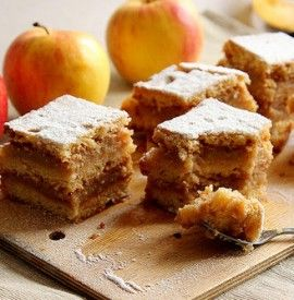 Sweet and Fluffy Apple Cake