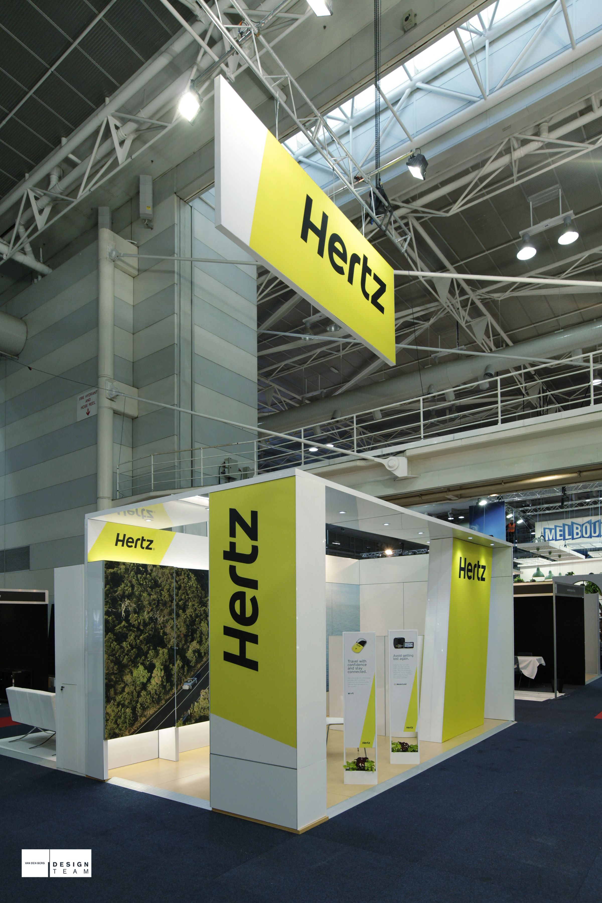 Sungard Exhibition Stand Year : Hertz to promote its commercial vehicles rental programme