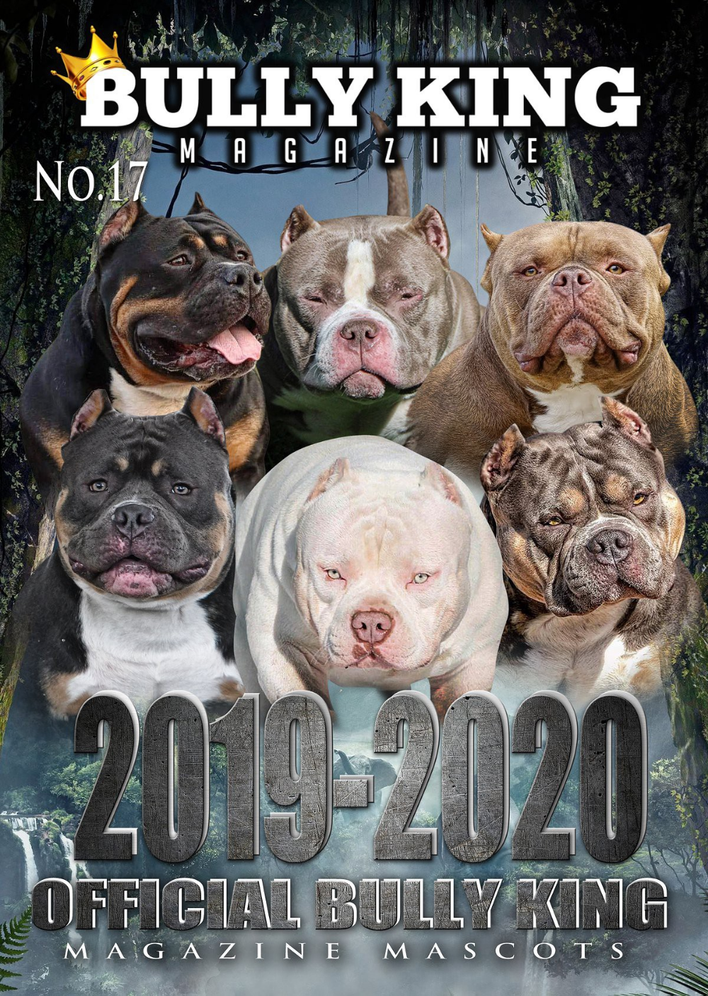 Introducing The 2019 2020 Bully King Magazine Mascots American Bully Bully Breeds The Little Polar Bear