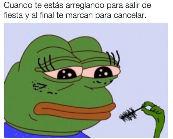 Pepe logró empatizar con nosotros en todas las situaciones posibles. | Los 24 memes más importantes de 2015 en México