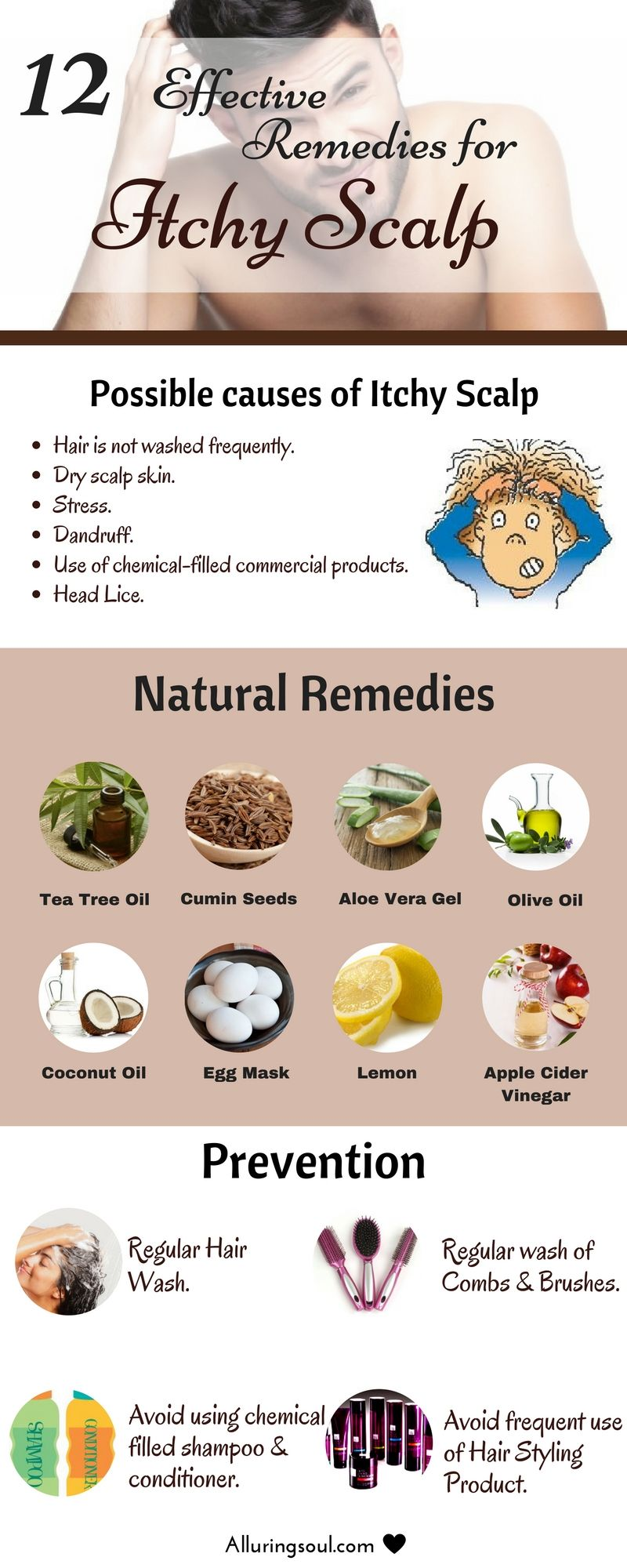 12 Effective Remedies For Itchy Scalp Alluring Soul Itchy Scalp Thick Hair Remedies Itchy Scalp Remedy