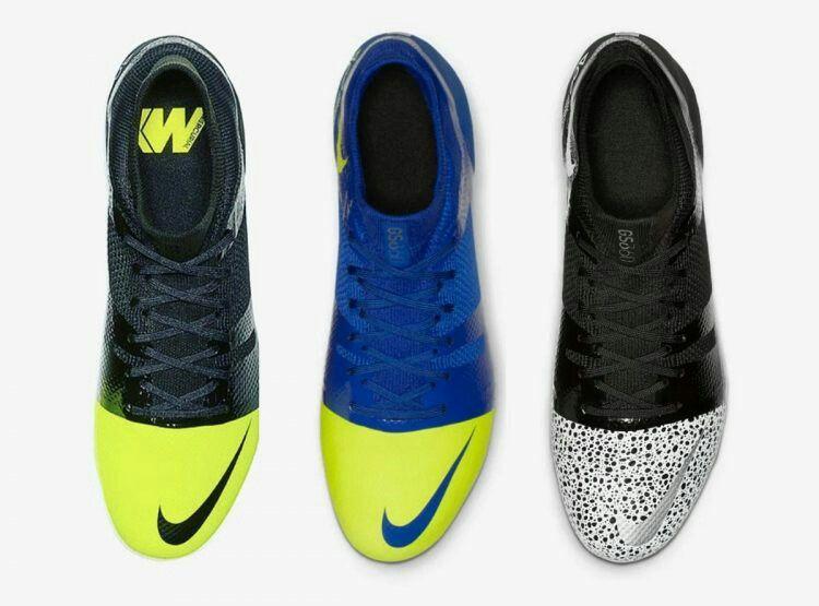 Chuteira campo Nike Mercurial Greenspeed 360 FG Black and Green