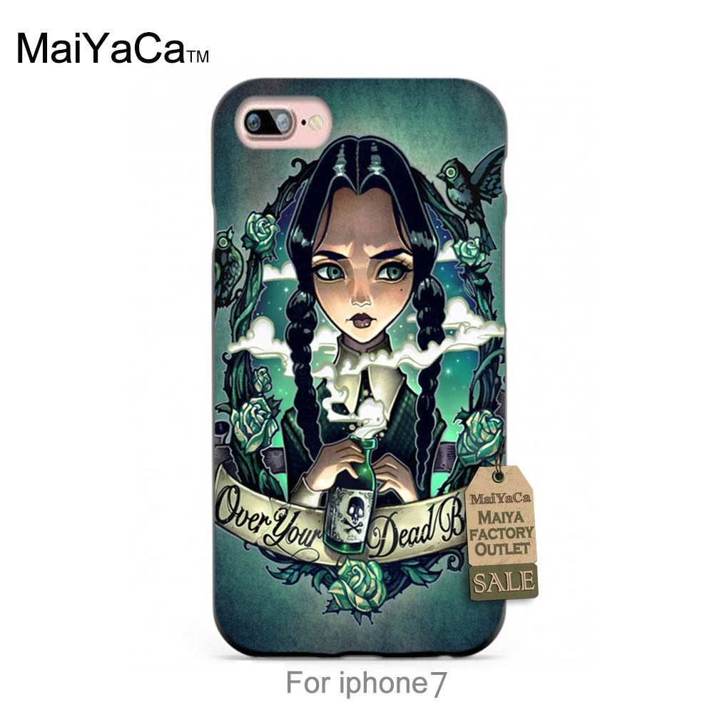 Black tpu silicone OVER YOUR DEAD BODY Original   phone case cover  For case iPhone 7