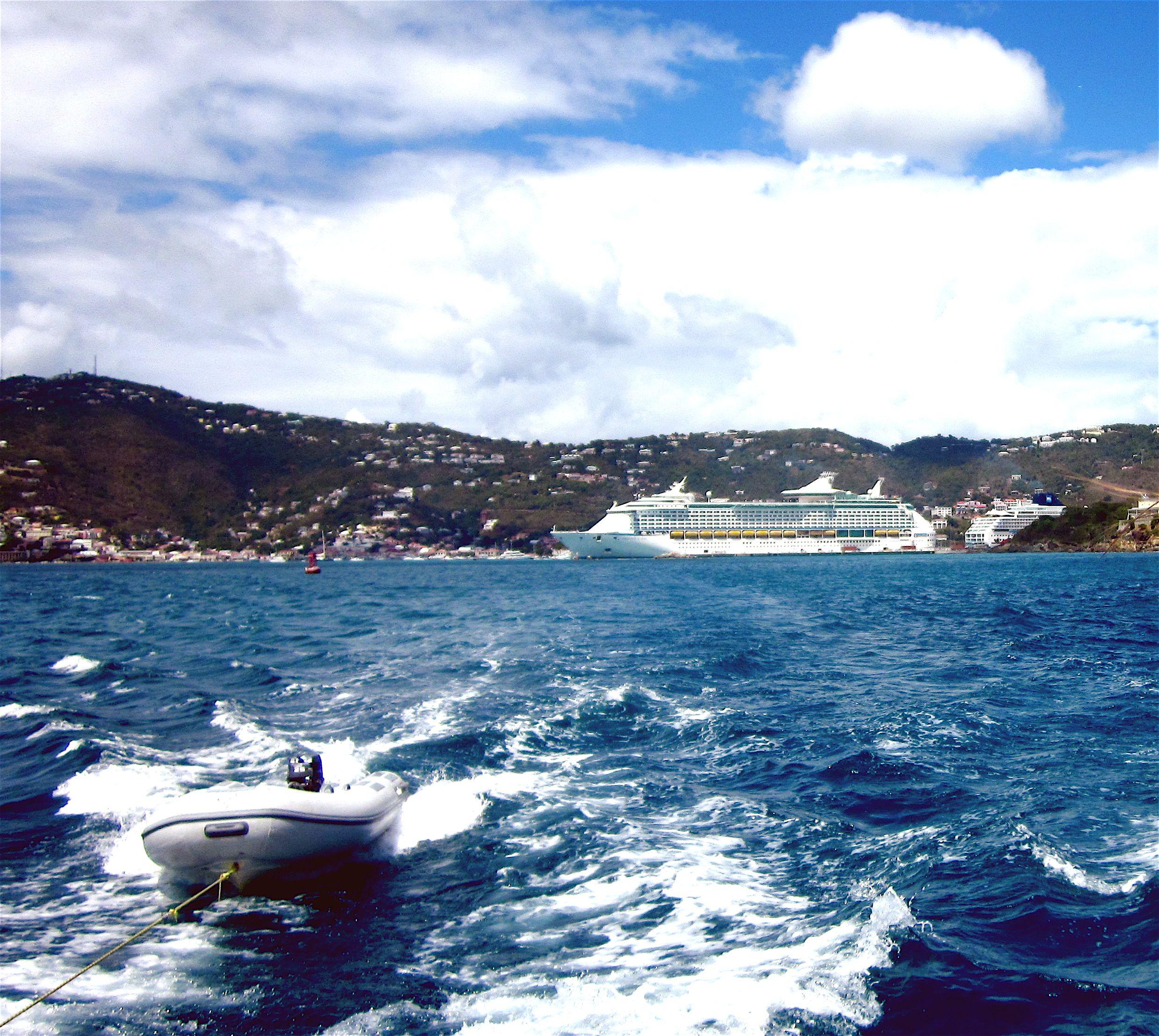 Catamaran Virgin Islands Vacation: Catamaran Off The Coast Of St. Thomas, U.S. Virgin Islands