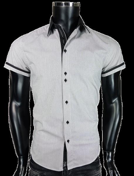 dffe220752fc36 Koszula męska w kolorze szarym - - Koszule męskie - Awii, Odzież męska,  Ubrania