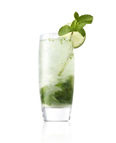 Rum Cocktails Cali Mojito Ingredients: 2 oz Caliche Rum 1 oz Fresh Lime Juice ¼ oz Agave Nectar 8 Mint Leaves Crushed ice on top Garnish: Mi...