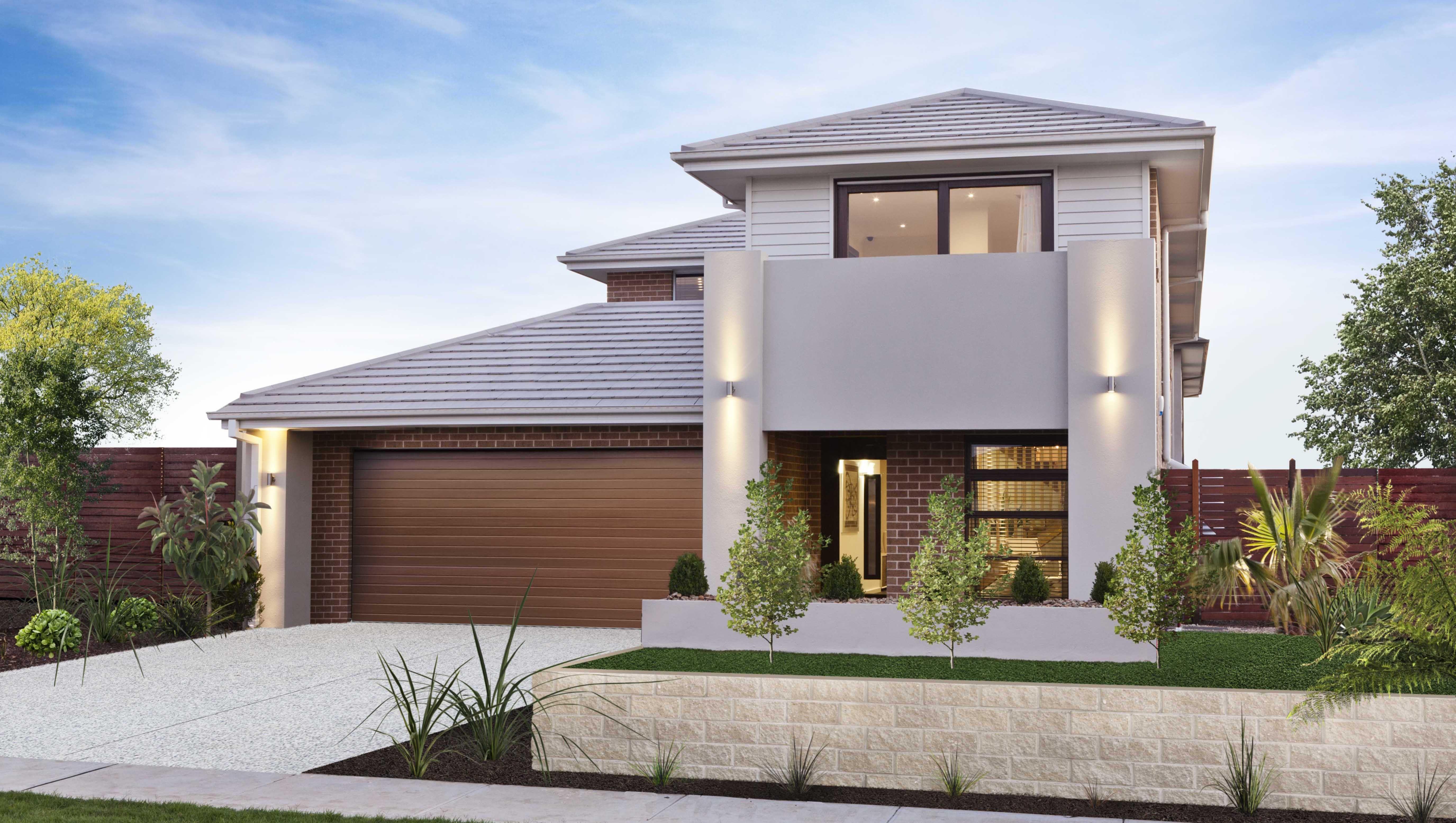 Bentleigh Newhome Facade House Simonds Homes House Design