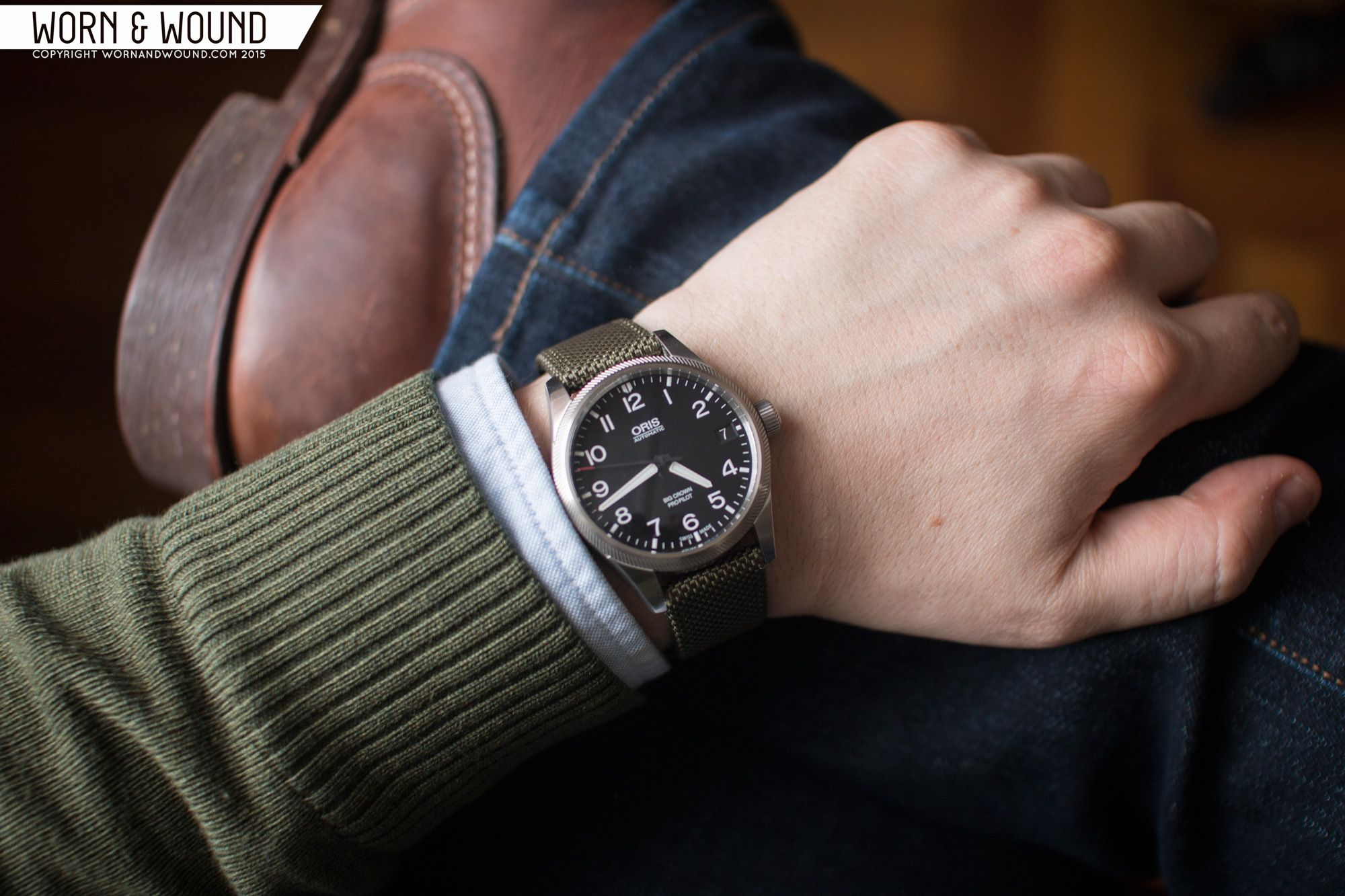 Oris Big Crown Propilot Date Review Worn Wound Cool Watches Dating Crown