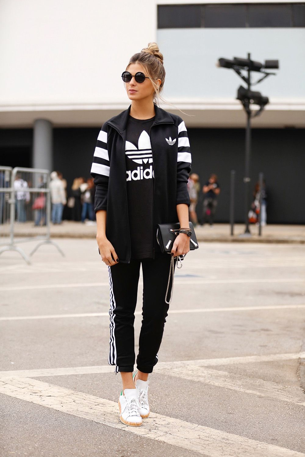 Nothing beats the classy ness of Sneakers on a Girl   Sportswear ... f1658b68d4