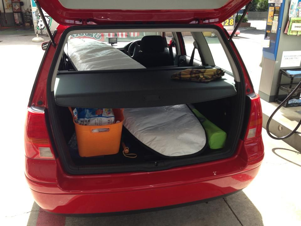 My golf wagon