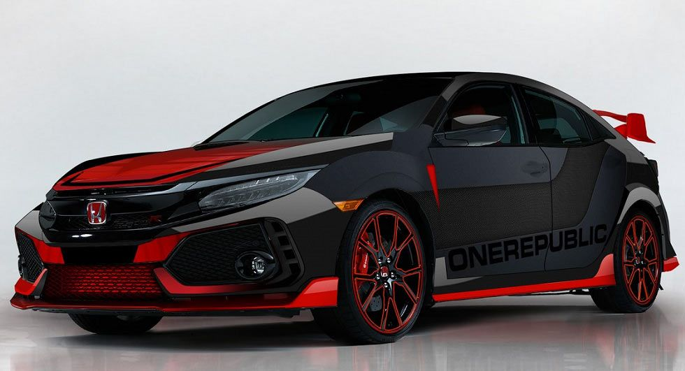 Honda Shows Off A Custom Civic Type R Designed By