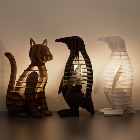 Night stand Lamps, so cool right?