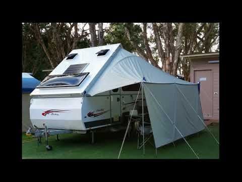 Canopy Downunda Shade Canopy Setup For Avan Aliner Cruiser And Cruiseliner Youtube Rv Canopy Trailer Awning A Frame Camper
