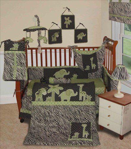 Custom Baby Boy Boutique - Animal Planet Lime 15 Pc Baby Bedding Nursery Crib Set by Sisi, http://www.amazon.com/dp/B00838NFYY/ref=cm_sw_r_pi_dp_7HQurb0K1CV8Y