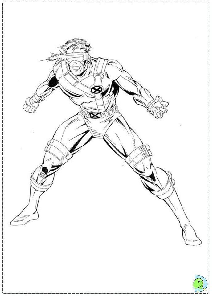 X Men Coloring Page Superhero Coloring Superhero Coloring Pages Marvel Coloring