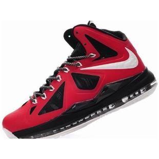 sports shoes 60f10 966cf Nike Zoom LeBron 10 P.S Varsity Red Black White