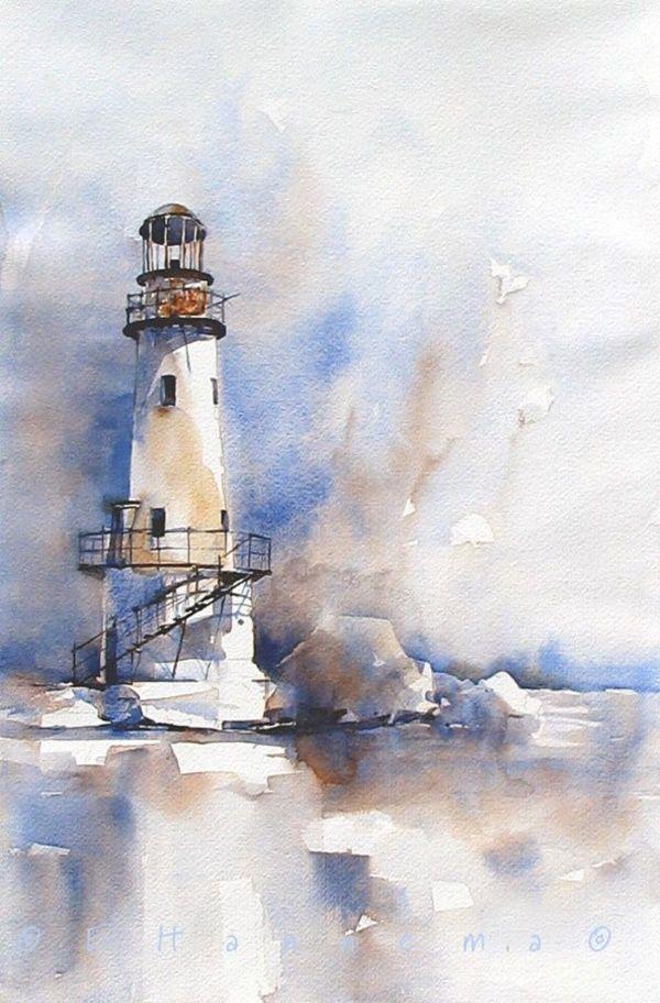 Easy Watercolor Painting Ideas For Beginners Aquarellbilder