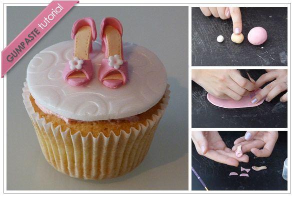 gumpaste shoe tutorial