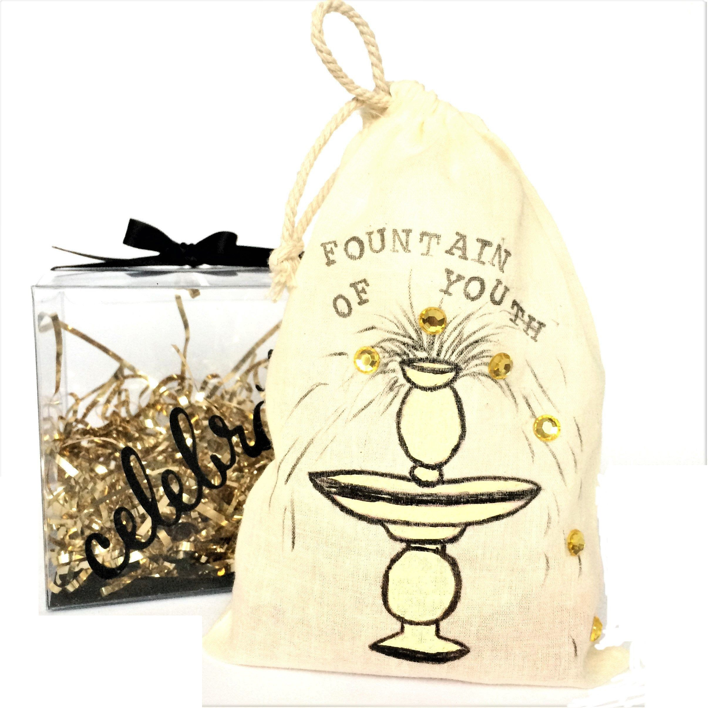 50th birthday gift for her funny gift for women fountain
