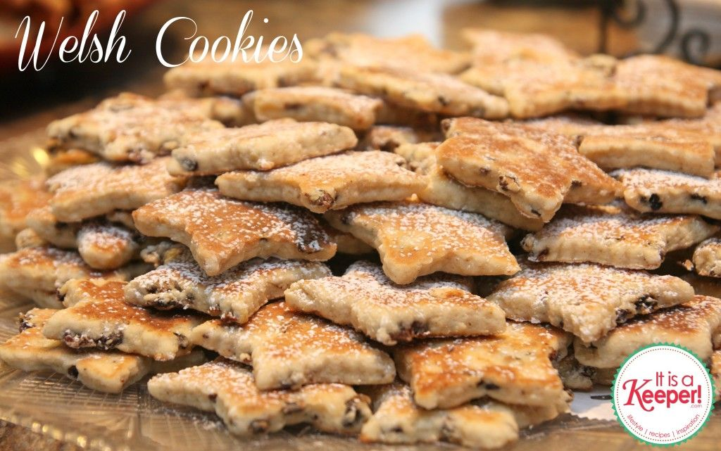 Christmas Cookie Recipes Welsh Cookies by It's a Keeper