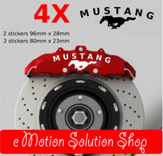 Stickers étriers de freins Ford Mustang